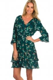 Freebird |  Floral dress Hazel | green  | Picture 2