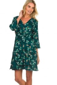 Freebird |  Floral dress Hazel | green  | Picture 4