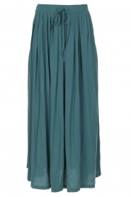 Not Shy | Maxi-rok Lucie | blauw  | Afbeelding 1