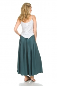 Not Shy | Maxi-rok Lucie | blauw  | Afbeelding 6