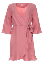 Freebird |  Wrap dress Presley | pink  | Picture 1