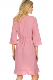 Freebird |  Wrap dress Presley | pink  | Picture 5