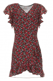 Freebird |  Floral dress Rosy | black  | Picture 1