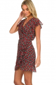 Freebird |  Floral dress Rosy | black  | Picture 5