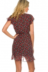 Freebird |  Floral dress Rosy | black  | Picture 6
