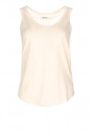 Not Shy | 100% linnen top Audrey | beige  | Afbeelding 1