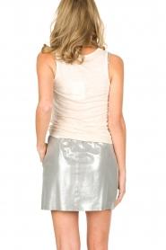 Not Shy | 100% linnen top Audrey | beige  | Afbeelding 6