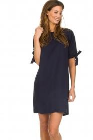 Freebird |  Dress bow cuffs Jadyn | blue  | Picture 4