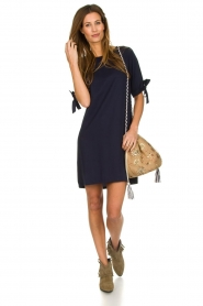 Freebird |  Dress bow cuffs Jadyn | blue  | Picture 3