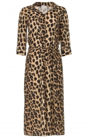 Freebird |  Midi dress with leopard print Victoria | animal print  | Picture 1