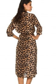 Freebird |  Midi dress with leopard print Victoria | animal print  | Picture 6
