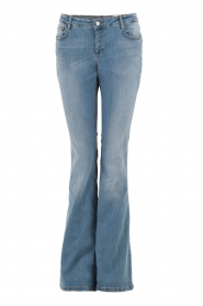 Set | Flared jeans Romy lengtemaat 34 | lichtblauw