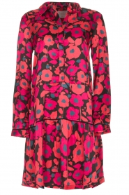 Freebird |  Floral dress Poppy | red  | Picture 1