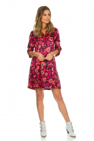 Freebird |  Floral dress Poppy | red  | Picture 3