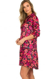 Freebird |  Floral dress Poppy | red  | Picture 4