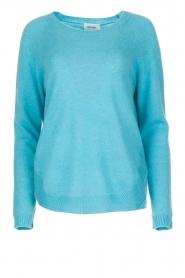 Not Shy | Kasjmieren trui Tallulah | blauw  | Afbeelding 1
