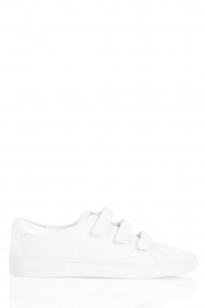 Leather sneaker Craig | white