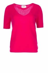Not Shy |  Cashmere sweater Gatienne | pink  | Picture 1