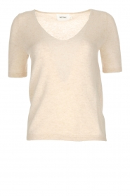 Not Shy |  Cashmere sweater Gatienne  | beige  | Picture 1