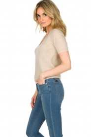 Not Shy |  Cashmere sweater Gatienne  | beige  | Picture 4