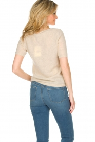 Not Shy |  Cashmere sweater Gatienne  | beige  | Picture 5