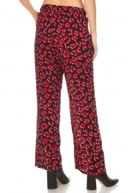 Lolly's Laundry |  Leopard printed wide leg pants Julia | print  | Picture 5