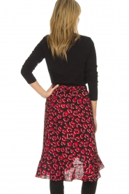 Lolly's Laundry |  Leopard skirt with ruffles Bertha | print  | Picture 4