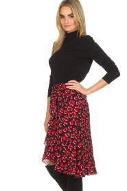 Lolly's Laundry |  Leopard skirt with ruffles Bertha | print  | Picture 3