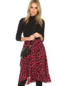 Lolly's Laundry |  Leopard skirt with ruffles Bertha | print  | Picture 5