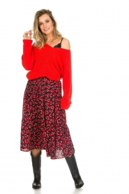 Lolly's Laundry |  Leopard printed midi skirt Morning | print  | Picture 3