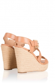 Leather Sandal Giovanna | Natural
