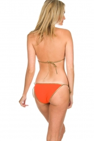 Tooshie |  Reversible triangle bikini Hampton | orange/pink  | Picture 5