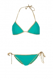 Tooshie |  Reversible triangle bikini Hampton | aqua blue  | Picture 5