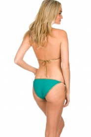 Tooshie |  Reversible triangle bikini Hampton | aqua blue  | Picture 4