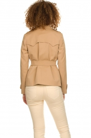 Arma |  Short trench coat Melanie | brown  | Picture 6