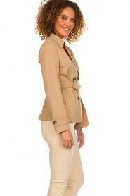 Arma |  Short trench coat Melanie | brown  | Picture 5
