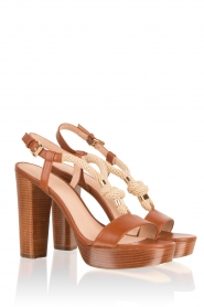 Leather sandal Holly | brown
