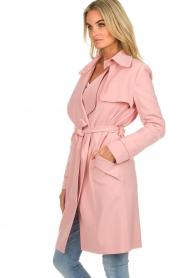 Arma |  Studio Ar trench coat Cecilia | pink  | Picture 6