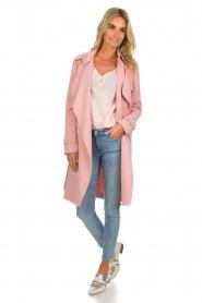 Arma |  Studio Ar trench coat Cecilia | pink  | Picture 4