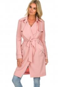 Arma |  Studio Ar trench coat Cecilia | pink  | Picture 2