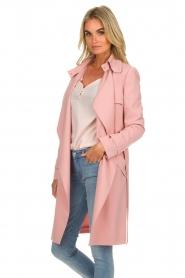 Arma |  Studio Ar trench coat Cecilia | pink  | Picture 5