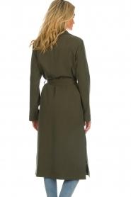 Arma |  Studio Ar wrap coat Leonore | green  | Picture 6
