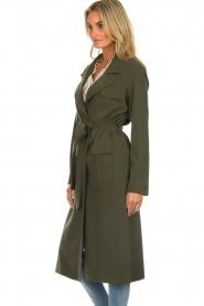 Arma |  Studio Ar wrap coat Leonore | green  | Picture 5