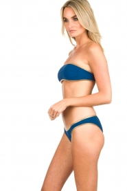 Tooshie | Tweezijdige bandeaubikini Hampton | blauw  | Afbeelding 4
