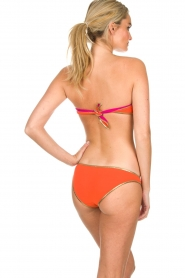 Tooshie |  Reversible bandeaubikini Hampton | pink/orange  | Picture 4