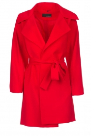 Arma |  Studio Ar wrap dress Meta | red  | Picture 1