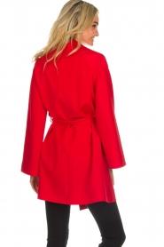 Arma |  Studio Ar wrap dress Meta | red  | Picture 5