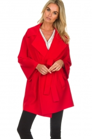 Arma |  Studio Ar wrap dress Meta | red  | Picture 2