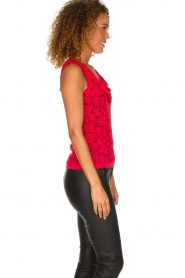 Rosemunde | Lace top Rosalie | red  | Picture 4
