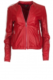 Arma |  Leather Jacket Passoa | red  | Picture 1